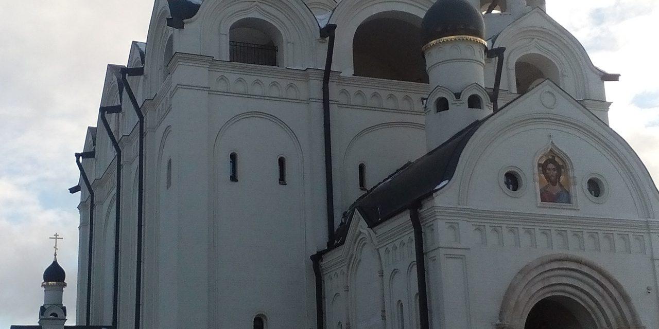 Освящение Патриархом храма в Медведково