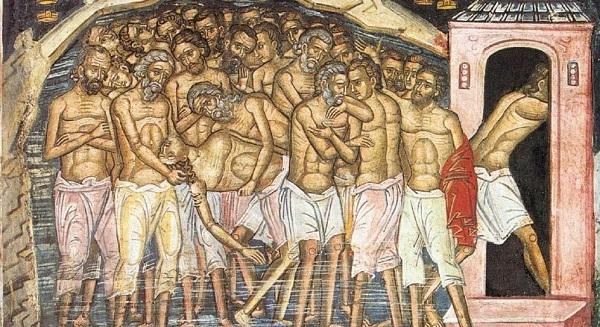 40 мучеников Севастийских (фото и видео празднования)
