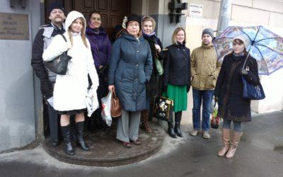 Экскурсия в музей-квартиру Павла Флоренского состоялась!