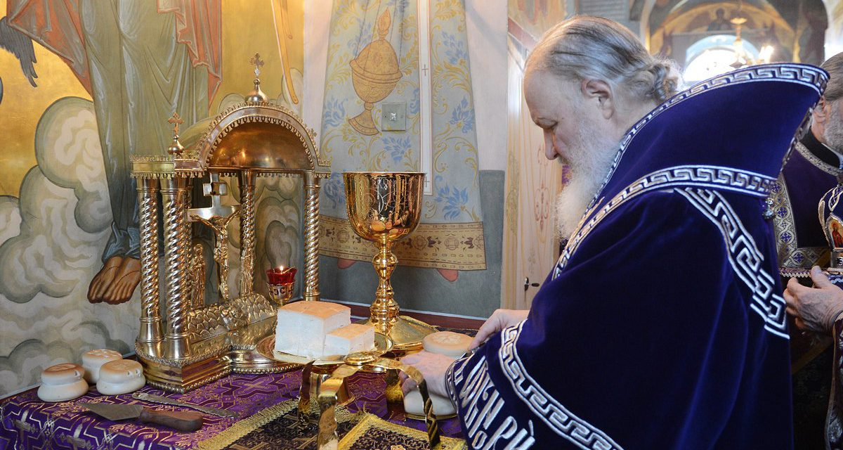 Слово Патриарха о греховных помыслах
