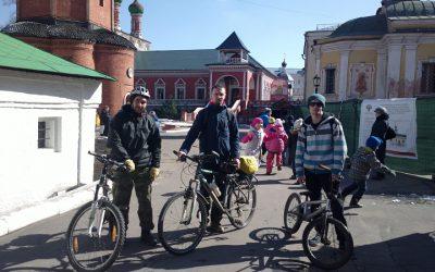 23 апреля — велосипедное паломничество