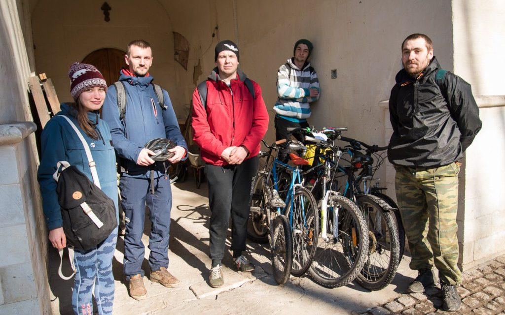 Вело-паломничество в Андреевский монастырь 1 апреля. Как это было.