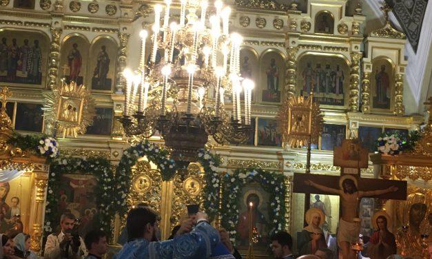 Встреча Епископа Подольского Тихона