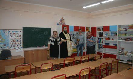 Освящение детского сада