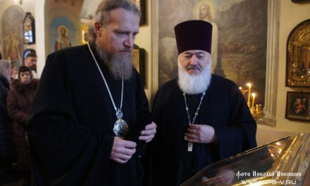 Встреча Преосвященного владыки Иоанна, епископа Домодедовского