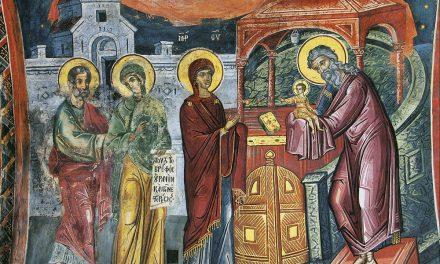О богослужениях на праздник Сретения Господня