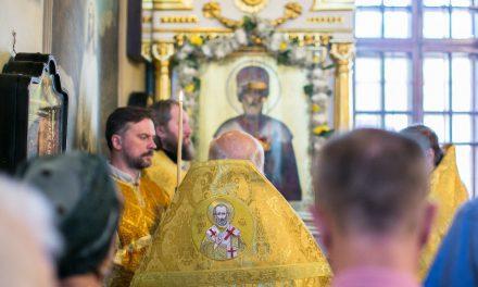 Вечернее и утреннее богослужение в день памяти св. Николая 21/22 мая