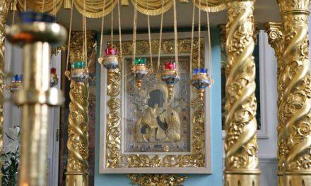 Встреча Феодоровской иконы Божией Матери