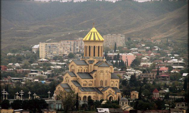 Прот. Владимир Александров прибыл в Тбилиси