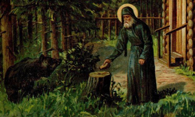 Преставление прп. Сергия, игумена Радонежского