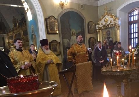 День памяти священномученика Сергия Станиславлева. Обновлено.