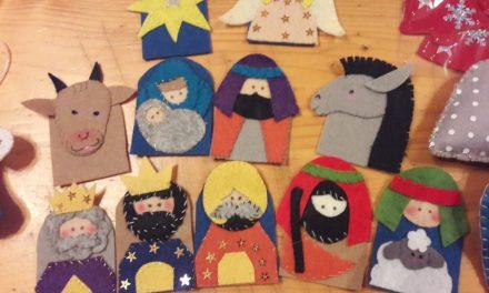 Изготовление рождественских игрушек — как это было