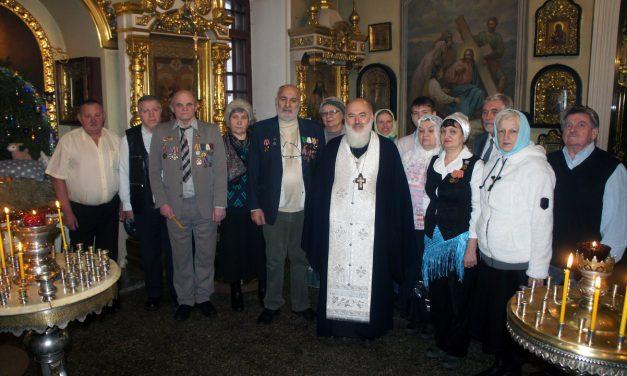 Собор Пресвятой Богородицы. Поздравление ветеранов.