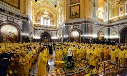 10-я годовщина интронизации Святейшего Патриарха Кирилла