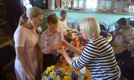 День рождения швейной мастерскойВладыкинского семейного клуба трезвости!