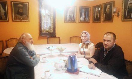 Встреча с представителями казачьего общества БИБИРЕВСКОЕ