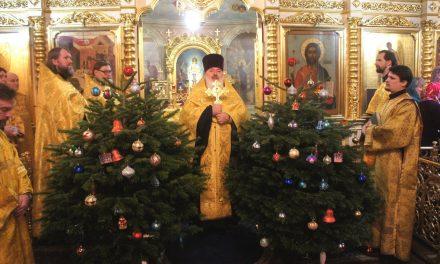 Новогодний молебен 31 декабря
