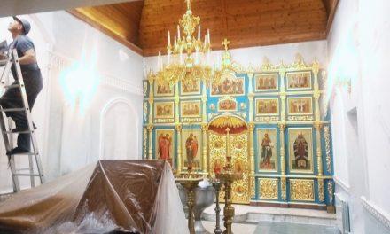 Реставрация Крестильного храма