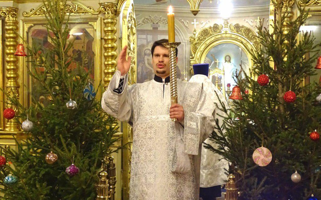 Рождественский сочельник в нашем храме