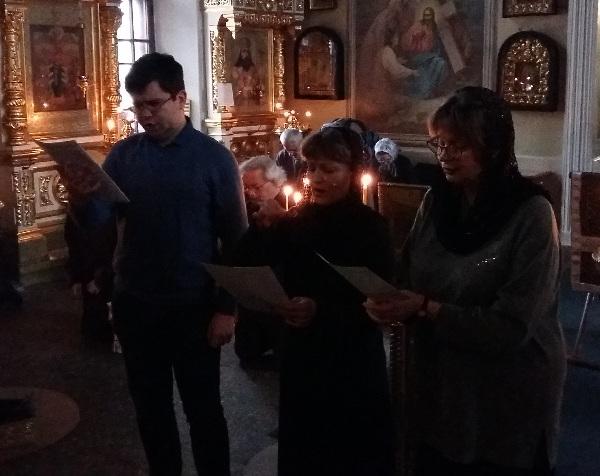 Первая литургия Преждеосвященных Даров