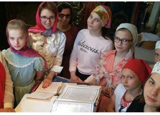 Дополнительный набор детей в детский хор.