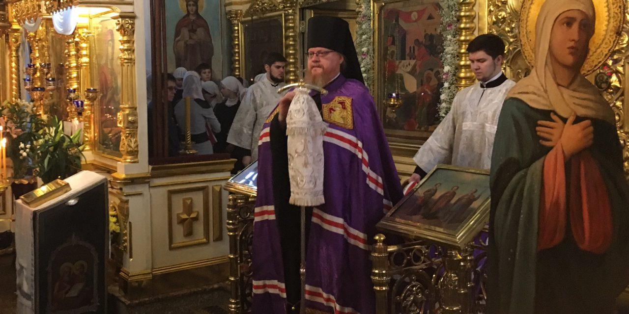 Архиерейское Богослужение в нашем Святом Храме. Обновлено.