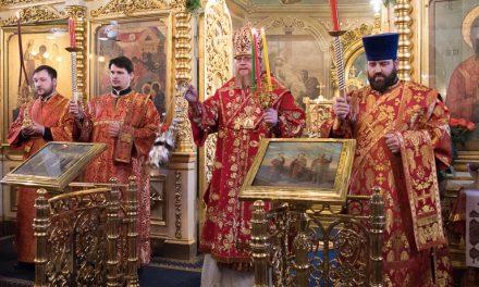 Архиерейское богослужение 20 апреля (добавлены фото)