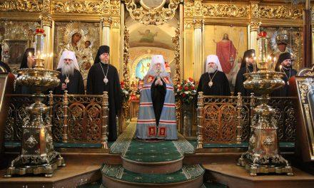 Торжества по случаю юбилея епископа Подольского Тихона