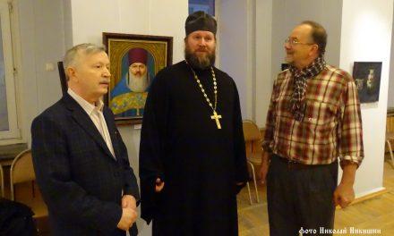 Открытие художественной выставки Товарищества живописцев