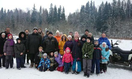 Поездка воскресной школы в деревню Дютьково