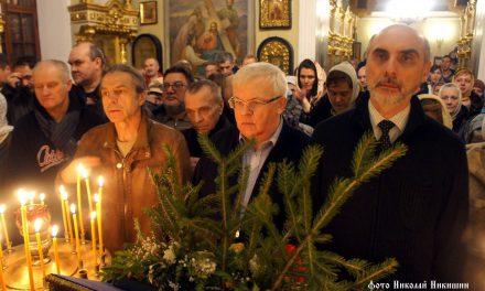 Молебен на новолетие 31 декабря — галерея