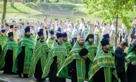 Фотогалерея Троицкого Крестного хода