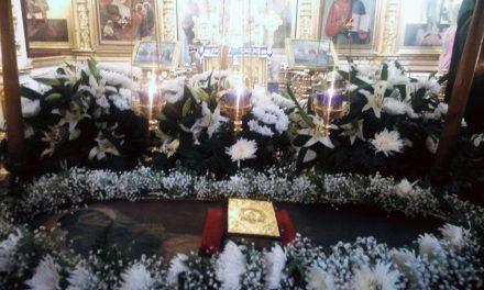 Праздничное богослужение накануне Успения Пресвятой Богородицы