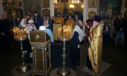 Богослужение в воскресный день 30 декабря.