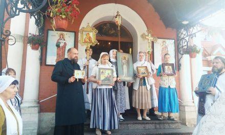 Престольный праздник в честь Архангела Гавриила