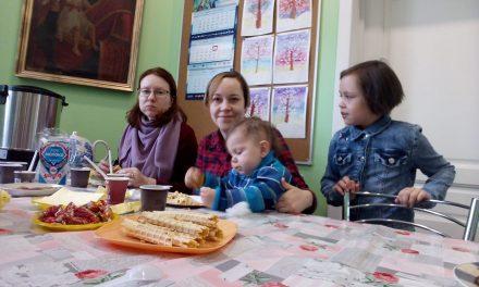 Детский праздник во Владыкине