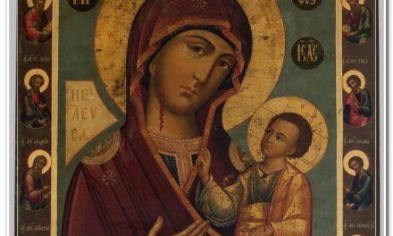 25 февраля празднуем Иверскую икону Божией Матери