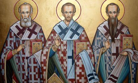 12 февраля память трех святителей